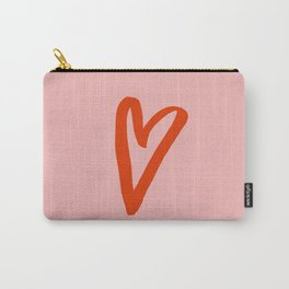 Heart Doodle Big 1 Carry-All Pouch