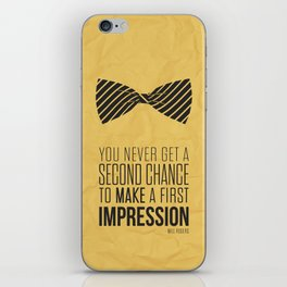 Lab No. 4 - Inspirational Typographgy Quotes By Will Rogers American cowboy iPhone Skin