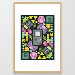 Games People Play Framed Art Print
