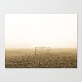 Soccer Field Canvas Print
