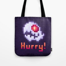 Hurry Von Death Ghost Tote Bag