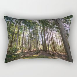 Old Forest in Spring 3 Rectangular Pillow