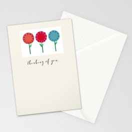 Little Maids all in a Row Stationery Cards