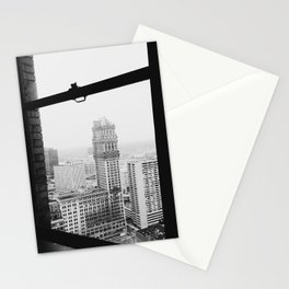 Book Tower - Detroit, MI Stationery Cards