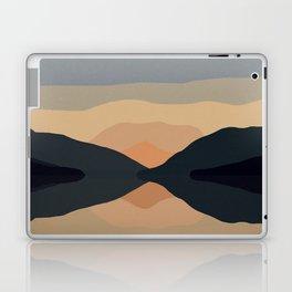 Sunset Mountain Reflection Laptop & iPad Skin