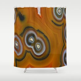 Condor Eye Agate Shower Curtain