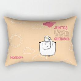 Juntos llegaremos tan alto Rectangular Pillow