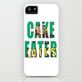 Cake Eater iPhone Case