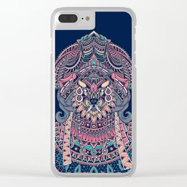 Queen of Solitude Clear iPhone Case