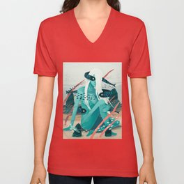 Heavy water Unisex V-Neck