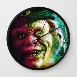 The Leprechaun comic book cover featuring Warwick Davis classic horror! Wall Clock