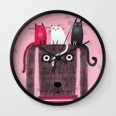 TRI-TOP Wall Clock
