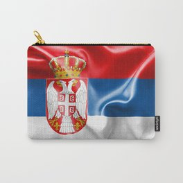 Serbia Flag Carry-All Pouch