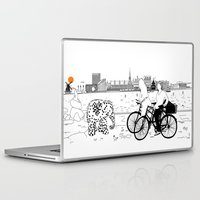 copenhagen Laptop & iPad Skins featuring Copenhagen by sarknoem