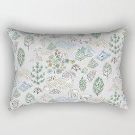 Far, Far North Rectangular Pillow