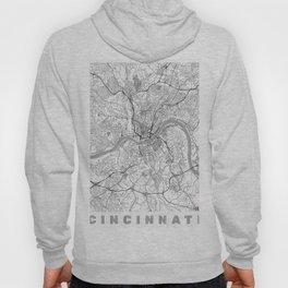 Cincinnati Map Line Hoody
