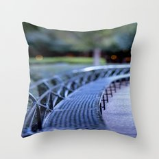 Twilight in New Orleans Throw Pillow