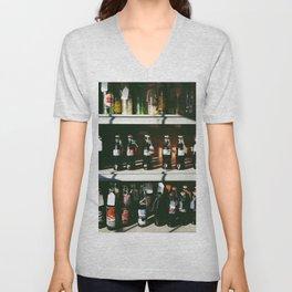 Vintage Coke Bottles Unisex V-Neck
