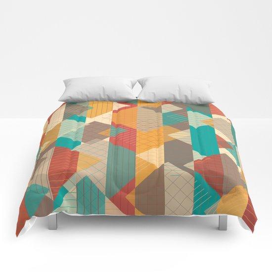 Geometric Geek Pattern Comforters