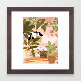 How Many Plants Is Enough Plants? Framed Art Print