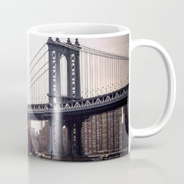 NYC Manhattan Bridge Coffee Mug