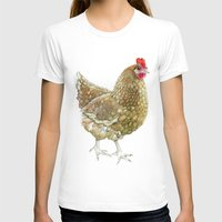 chicken T-shirts featuring Chicken by Natasha Hutton