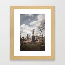 Greenwood Cemetery 1 Framed Art Print