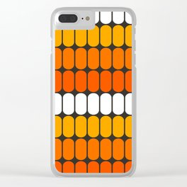 Flame Capsule Clear iPhone Case