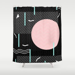Memphis Summer Night Shower Curtain