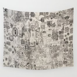 Doodle Wall Tapestry