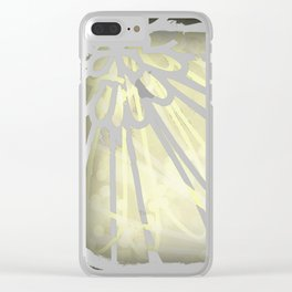 Douceur - Sweetness Clear iPhone Case
