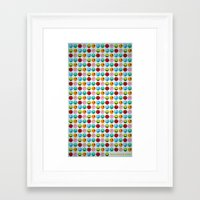 monster inc Framed Art Prints featuring Monster POP! by Caribu