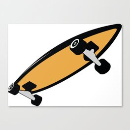 Skateboart Canvas Print