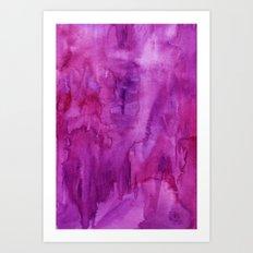 Wowza Wash Art Print