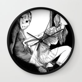 asc 563 - Le rite de passage (The prom night) Wall Clock