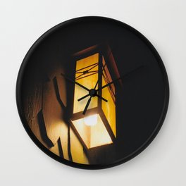 Light Rids Darkness-Film Camera Wall Clock