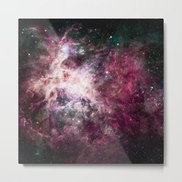 Nebula Formation in Outer Space Metal Print