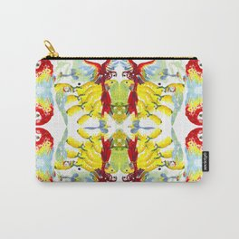 Summer Parrots Carry-All Pouch