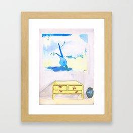 Interieur Jour Framed Art Print