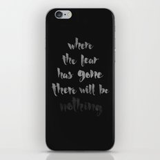 Litany Against Fear iPhone & iPod Skin