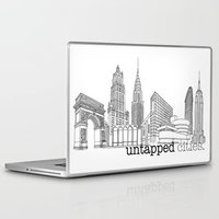 cities Laptop & iPad Skins featuring Untapped Cities by Untapped Cities