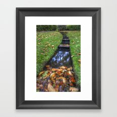 Autumn Waters Framed Art Print
