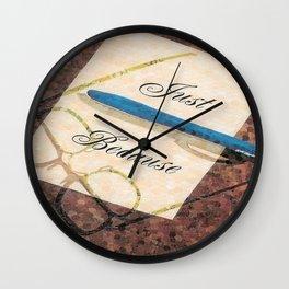 """""""Just Because"""" Wall Clock"""