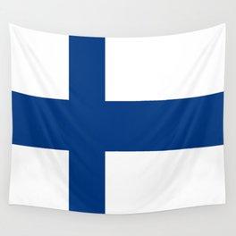 Flag of Finland 1 -finnish, Suomi, Sami,Finn,Helsinki,Tampere Wall Tapestry