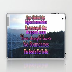 No Boundaries Laptop & iPad Skin