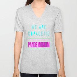 Copacetic Pandemonium Unisex V-Neck