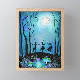 Halloween Dance Framed Mini Art Print