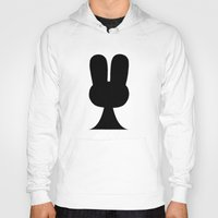 suit Hoodies featuring Bunny Suit by B-Bunny Shye
