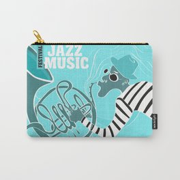 Turquoise Jazz Music Festival Carry-All Pouch
