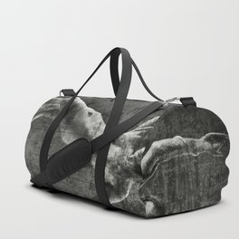 Nude with rope Duffle Bag